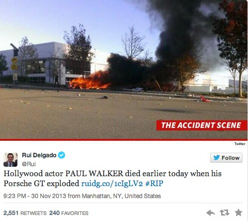 Paul Walker-oldu