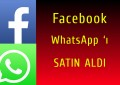 Facebook 'tan WhatsApp Atağı